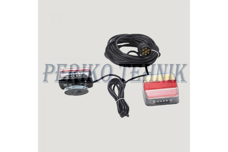 fa3c0ab0a80 Käru tulede komplekt magnetiga, LED (14xLED, värviline lääts) (KAMAR ...