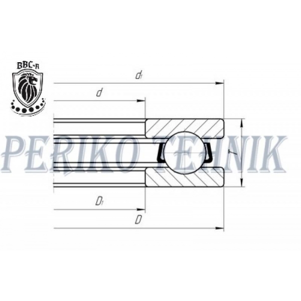 Thrust Ball Bearing 51201 (8201) (GPZ-34)