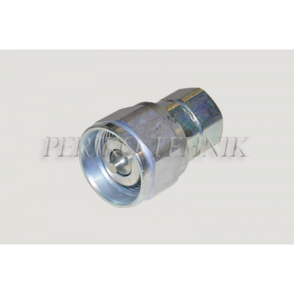 """Kiirliide keermega ISO-14541 DN25, BSP 1"""" pistik, võtmekandiga (surve all ühendatav)"""