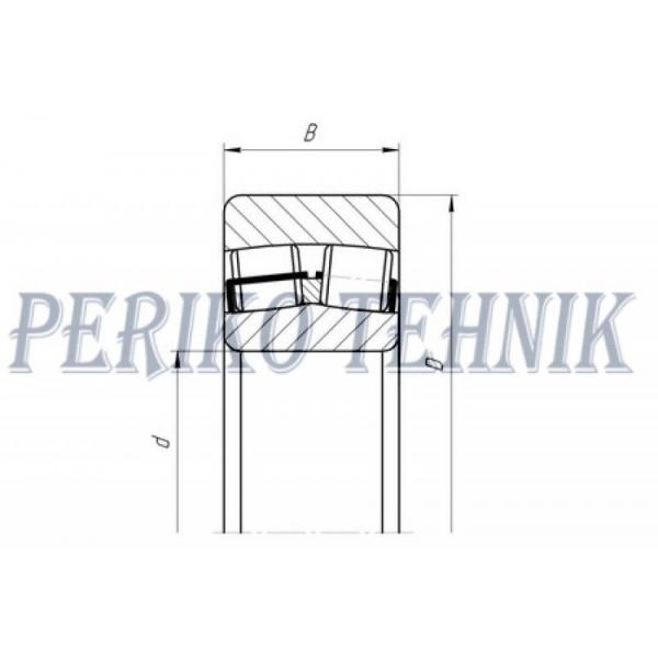 Double Row Roller Bearing 22208 E1 C3 (53508) (FAG(