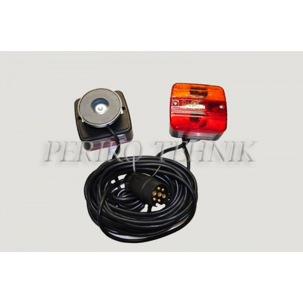 Rear Lamp Set with Magnetic Base (cable 12,0+2,5 m)