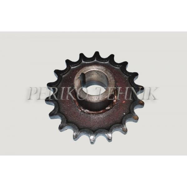 ROU-6 Sprocket PIN 01.810 (hole 40 mm; z=18)
