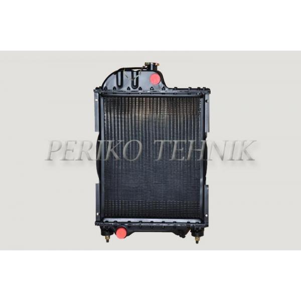 Radiaator komplektne, alumiiniumribi, plekkvannid, 70U-1301010, Hiina