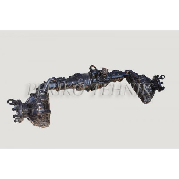 Esisild vedav, komplektne, 8 polti 72-2300020-A, vana tüüp (nurgaga sild), Originaal