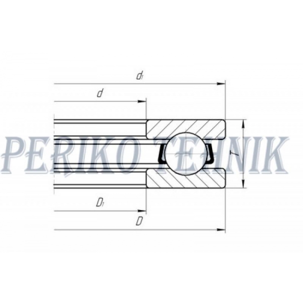 Thrust Ball Bearing 51108 (8108)