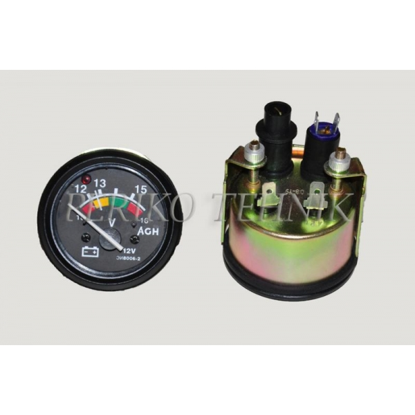 Voltmeeter EI8006-2 lambiga