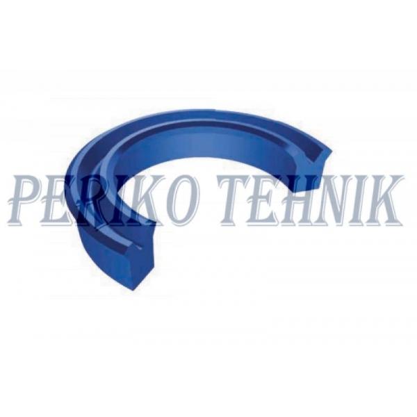 Piston seal TTU 40x50x8