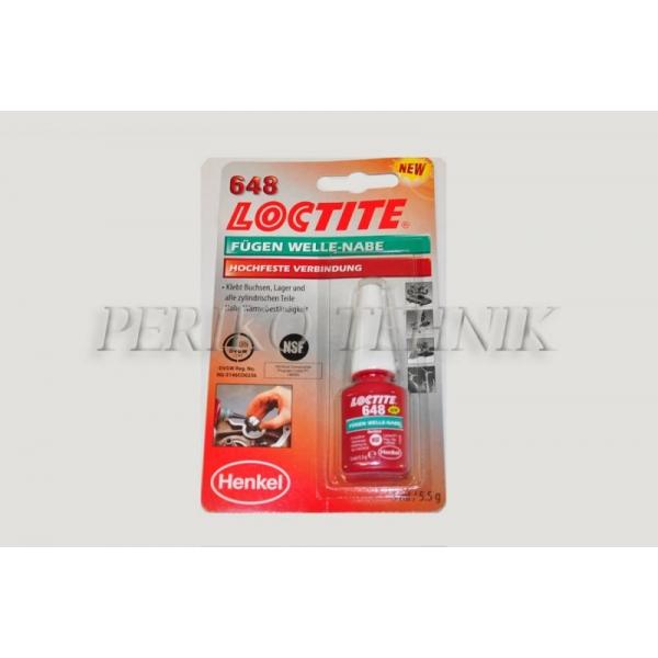 Liim 648 (ava-võll ühendused), 5 ml (LOCTITE)
