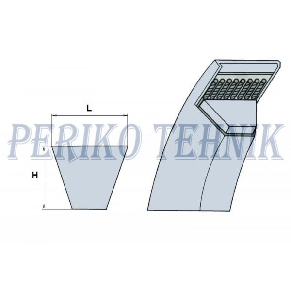 """Aiandusrihm 4L 96"""", 12,7x2438 mm (2388Li, 2424Lw)"""