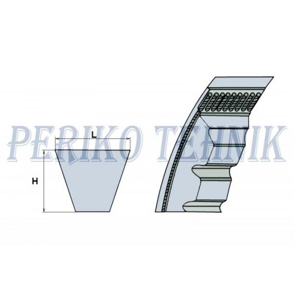 Kiilrihm XPZ 730 (OPTIBELT)