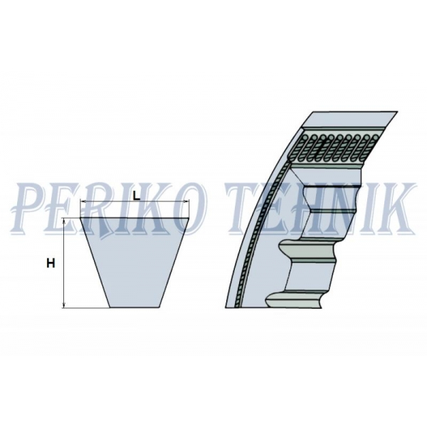 Kiilrihm XPZ 1337 (OPTIBELT)