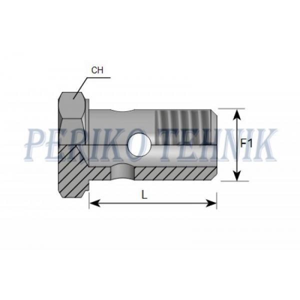 Banjopolt M10x1,0
