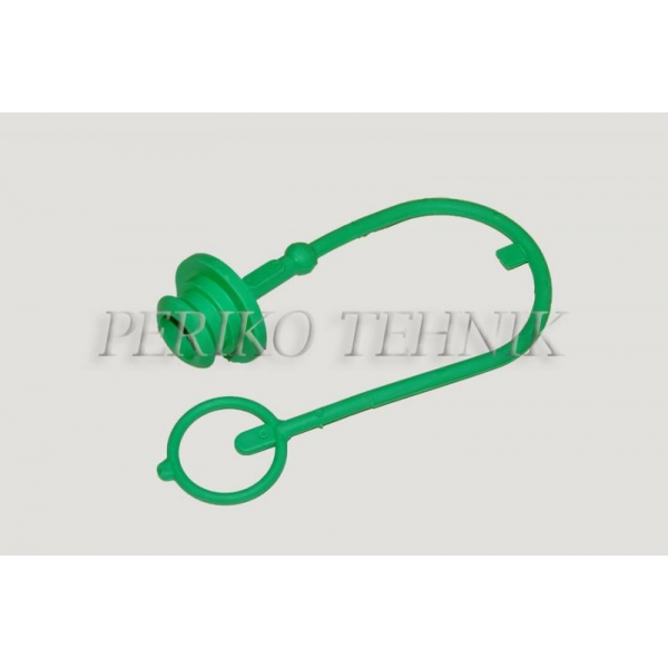 "Protective Cap for Female Quick-coupling ISO 12.5 (1/2"") (green)"