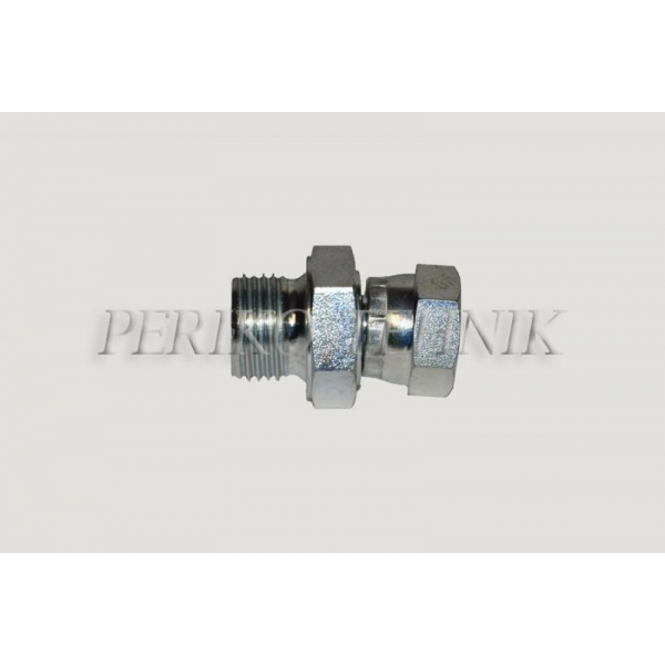 "Adapter Male BSPP 1/2"" - Swivel Female BSPP 1/2"""