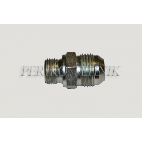 "Adapter Male JIC 3/4"" - Male BSPP 1/2"""