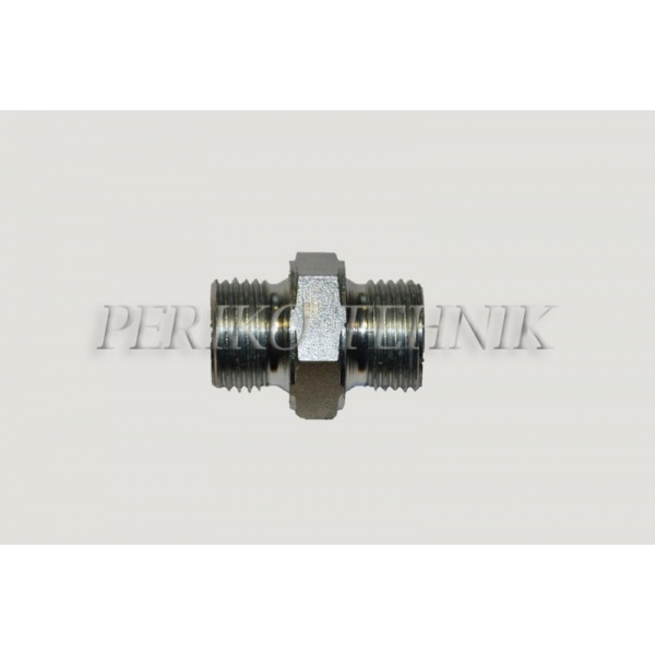 DIN Male Stud Coupling M18x1,5 - BSPP Male 3/8""