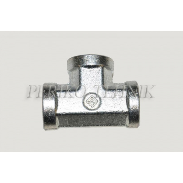 Tee Fixed Female Adapter BSPP 1/2""