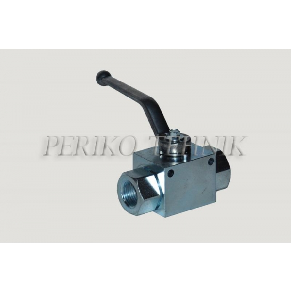 2-way Ball Valve DN13 G1/2'' with fixing holes