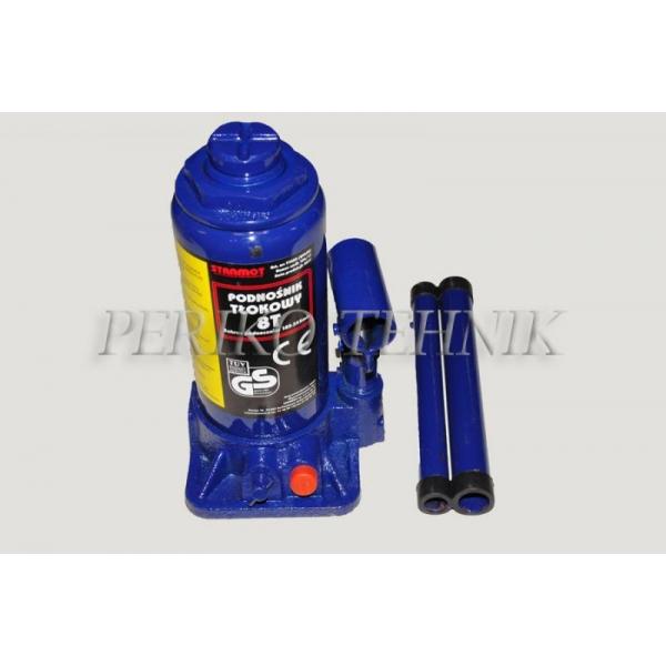 Hydraulic Bottle Jack 8 T, 420 mm