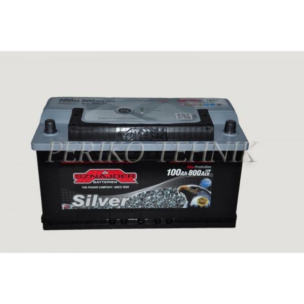 Aku 100 Ah Silver (SZNAJDER)