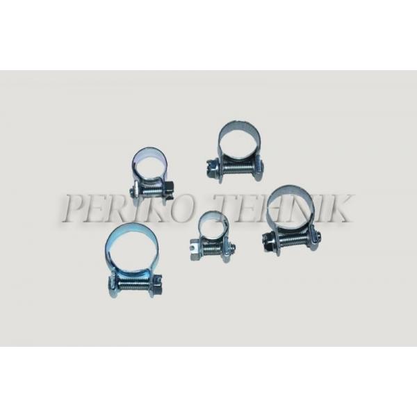 Voolikuklamber mini 15 mm (ABA)