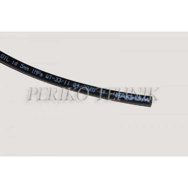 Õlikindel voolik 5x12 mm 1,0 MPa (FAGUMIT)