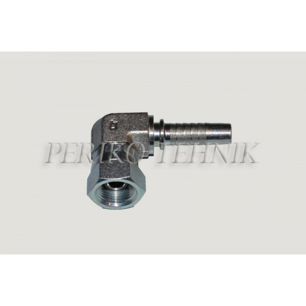 """Forged elbow 90° female fitting BSP 1/4""""- DN06"""