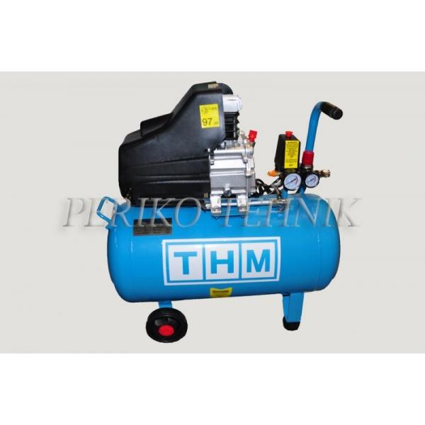 Kompressor 230V, 1,5 kW, 50L (THM)