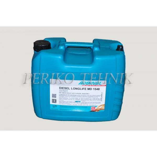 Õli MD1548 DieselLonglife 20 L (diiselmootoriõli) (ADDINOL)
