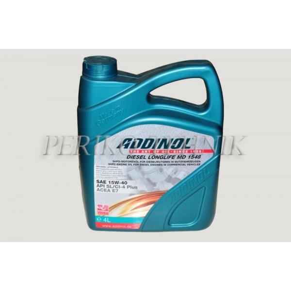 Õli MD1548 DieselLonglife 4 L (diiselmootoriõli) (ADDINOL)