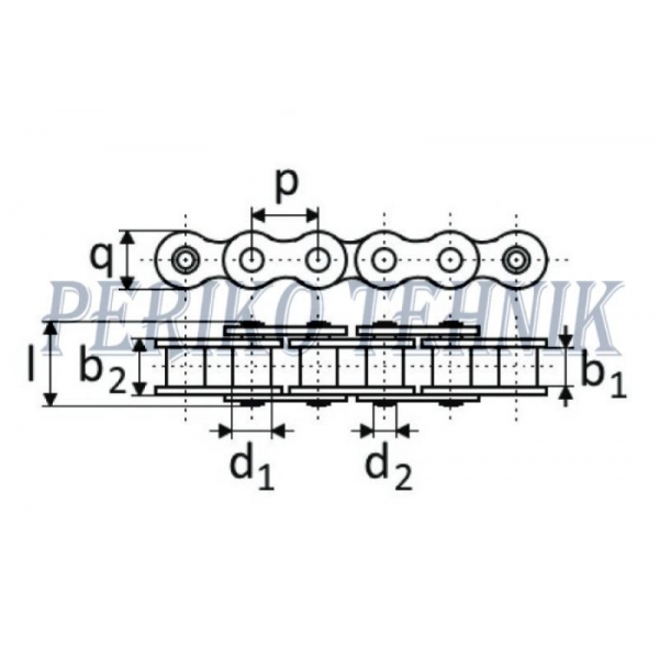 Rullpukskett 16B-1 25,4 mm, Hiina