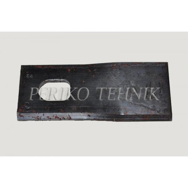 Rootorniiduki tera d=21x28 134x55x4 mm, parem, JF 13800047