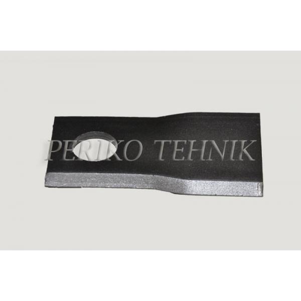 Rootorniiduki tera d=19 100x48x3 mm, parem, Claas