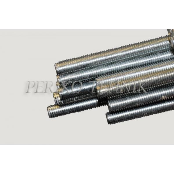 Keermelatt M6, 1 m / Zn, DIN975
