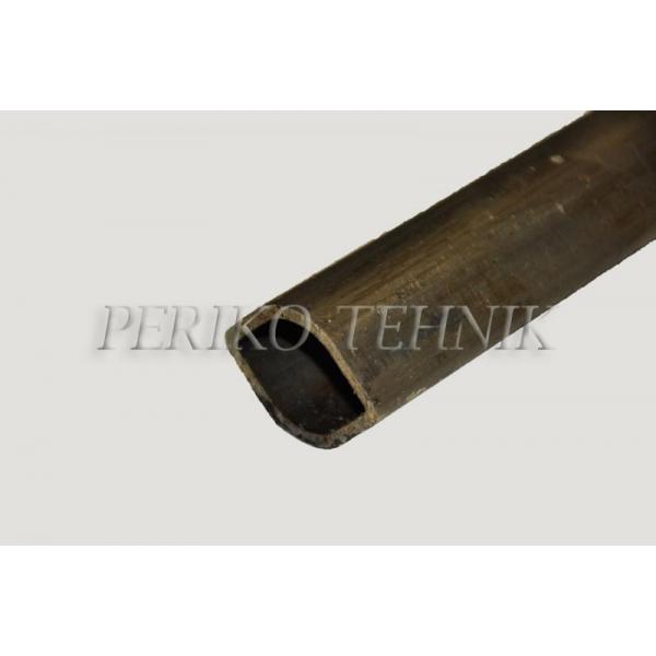 PTO Shaft Tube (outer, lemon profile) 30 mm 23/1000 mm