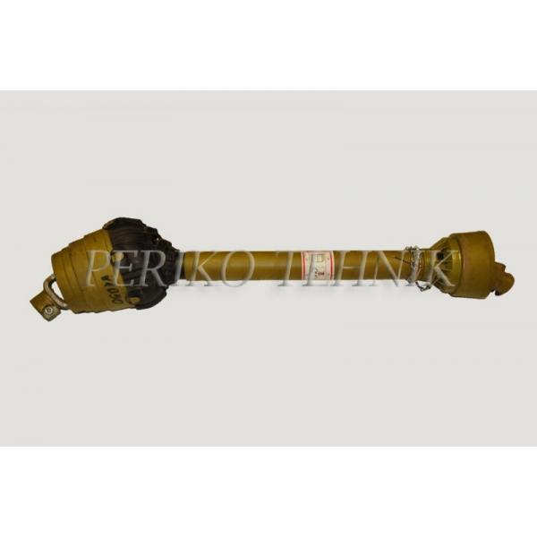 Wide-angle PTO shaft 61236/1250 32x36x106 /6X6/