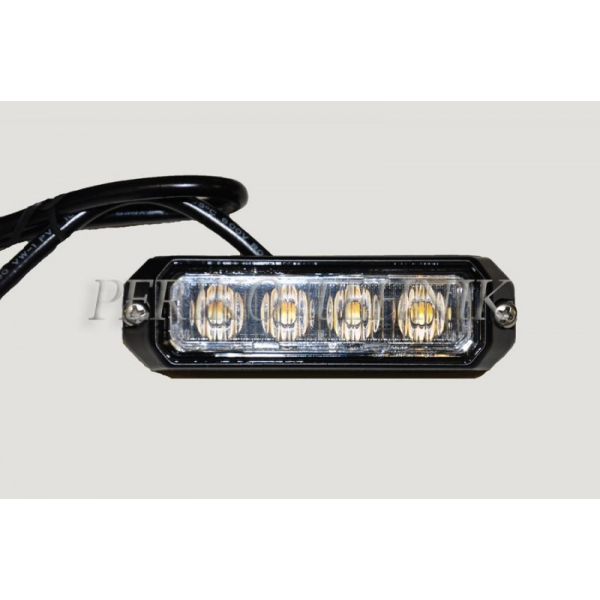Vilkur LED, 4xLED R65 R10, pinnapealne (KAMAR)