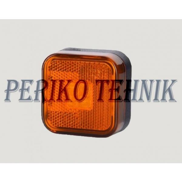 Ääretuli, kandiline, oranz, helkuriga (LO134) (HORPOL)