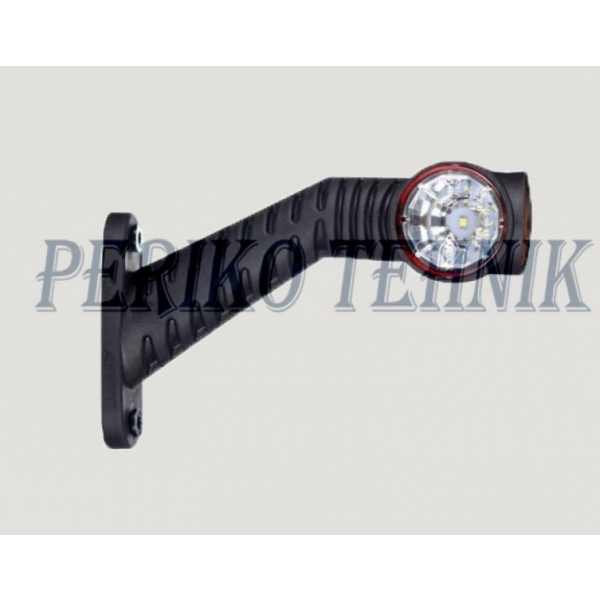 Ääretuli LED 12/24 V, vasak, pikk jalg (HORPOL)
