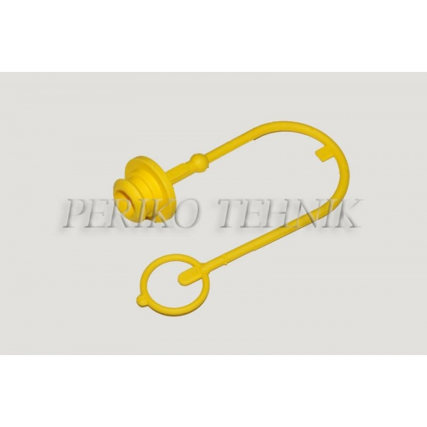 """Protective Cap for Female Quick-coupling ISO 12.5 (1/2"""") (yellow)"""