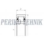 Roller Bearing NU2210 E C3 (FAG)