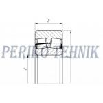 Double Row Roller Bearing 22309E W33J (53609) (ZVL)