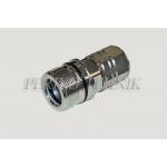 """Kiirliide keermega ISO-14541 DN25, BSP 1"""" pesa (surve all ühendatav)"""