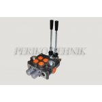 """Hydraulic Valve 120L/min 2-sections (P-A-B-T 1"""") (BADESTNOST)"""