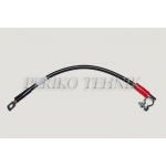 """Battery Cable """"+"""" 50 cm (35 mm2; eye 10 mm)"""