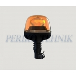 Amber beacon LED 12/24V, flexible, 7 patterns (KAMAR)