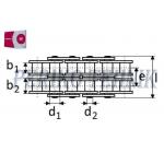 Roller Chain 12B-2 19,05 mm (5 m) (RENOLD SD)