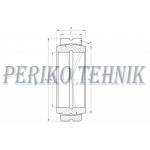 Radial Spherical Plain Bearing GE-30 DO 2RS (INA)