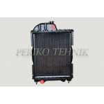 Coolant Radiator, Copper Core, Copper Tanks, 70U-1301010, (Chinease)