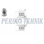Self-Aligning Double Row Ball Bearing 1207 K+H207 P6 (11206) (BBC-R)